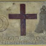 Pieve di Santo Stefano a Campoli, iscrizione posta nel porticato