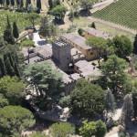 Castello il Palagio, vista aerea